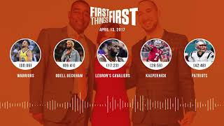 First Things First audio podcast(4.13.18) Cris Carter, Nick Wright, Jenna Wolfe | FIRST THINGS FIRST thumbnail
