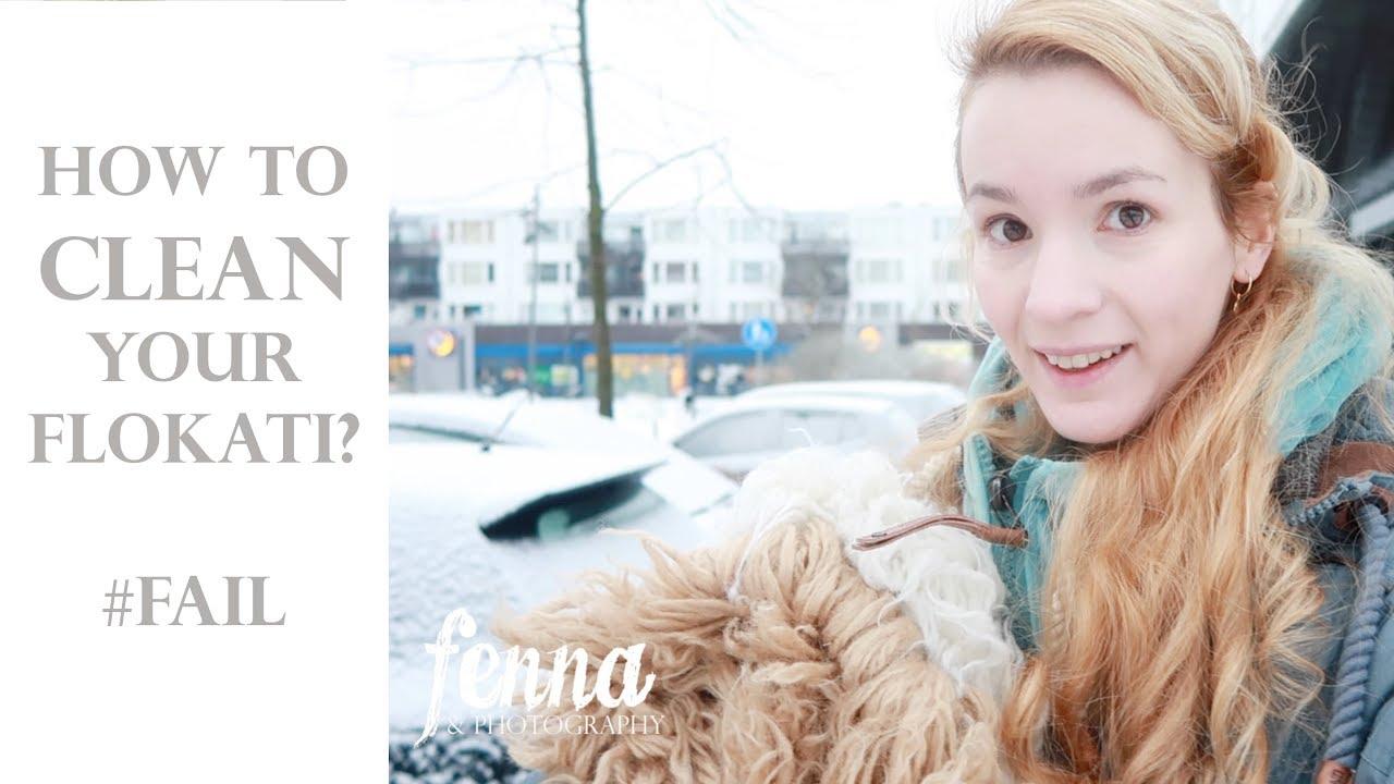 How To Clean Your Flokati Sheepskin Fur Rug Newborn Baby Photography
