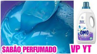 SABÃO AZUL CREMOSO PERFUMADO