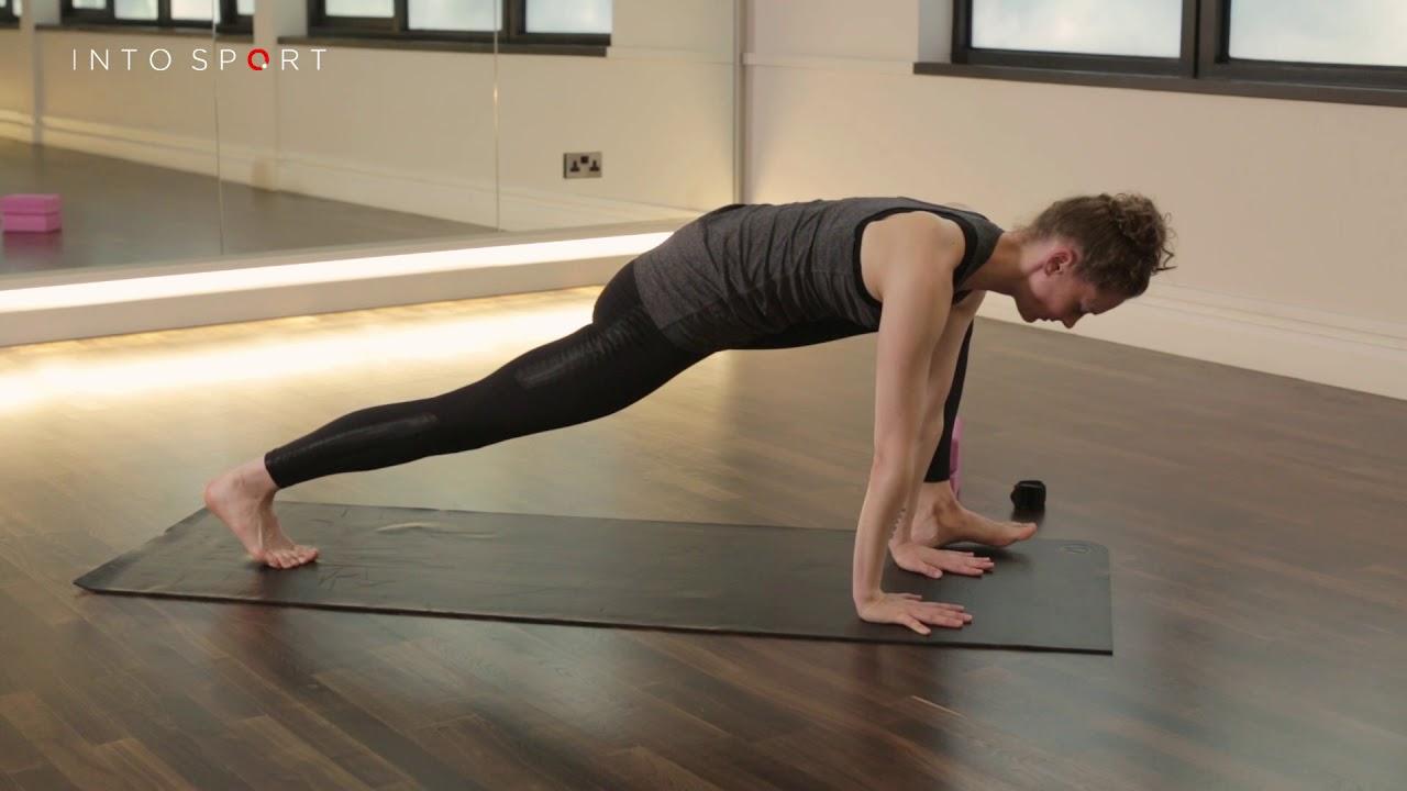 Lizard Pose - Yoga Technique - YouTube