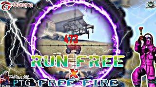 Deep Chills Run Free || Free Fire X Run Free 💕 || Beat sync Montage 🔥 #Freefire