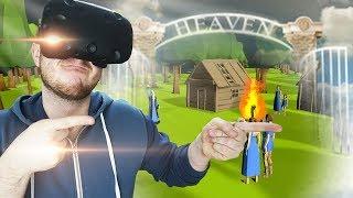 СОЗДАЛ ПРАВИЛЬНЫЙ РАЙ В СИМУЛЯТОРЕ БОГА ДЛЯ ВР! - Deisim VR - HTC Vive ВИРТУАЛЬНАЯ РЕАЛЬНОСТЬ