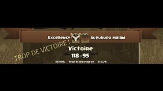 Clash of clans [FR] : Toujours la victoire !! War Recap #5