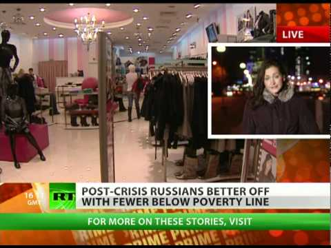 Salaries in Russia on the up, as country prospers post-crisis