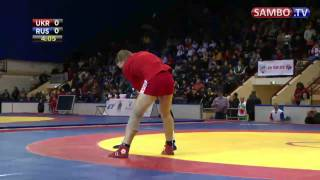 2012 Sambo Worlds Final : Kharitonov vs Savinov