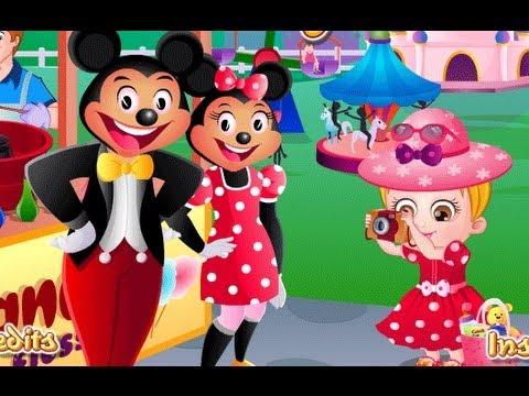 Baby Hazel In Disneyland Games-Baby Games-Girl Games