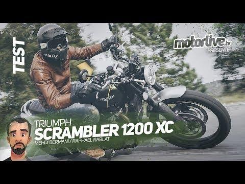 TRIUMPH SCRAMBLER  XC  | TEST