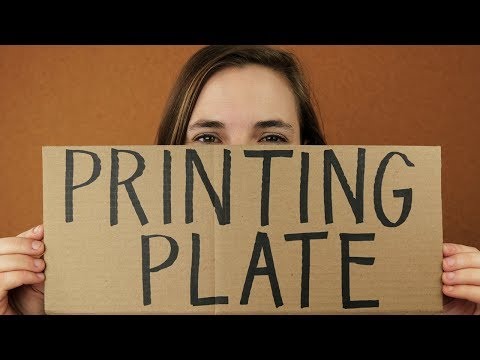 What is a Printing Plate? - YouTube