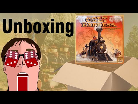 Colt Express: Unboxing |