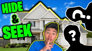 HIDE and SEEK in STRANGERS HOUSE!
