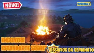 FIND SECRET BANNER #10-Fortnite Battle Royale