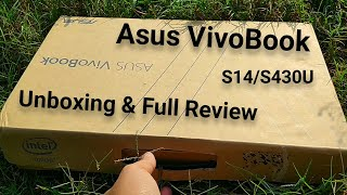Asus Vivobook S14 S430Ua Unboxing