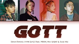 All rights administered by aomgofficial *click cc for english, japanese and chinese subtitles* artist: 사이먼 도미닉 simon dominic track: gott (feat. moon, 우원재 woo...