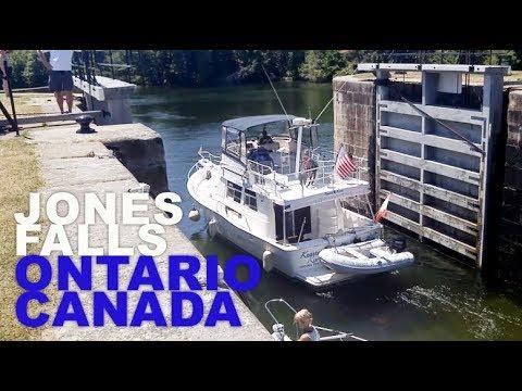 Rideau Canal & Waterway Jones Falls Locks Ontario Canada. Fascinating!!