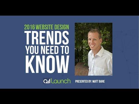 2016 Website Design Trends You Should Know