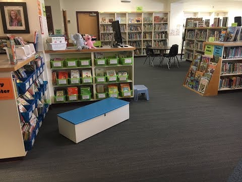 Updating the School Library  - Rick Marcotte Central School