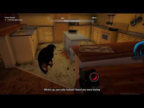 Far Cry 5 Pooper Scooper Prepper Stash Treasure Location - Enter the house