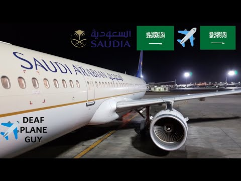 ✈️ TRIP REPORT | Saudia Arabian airlines A321 | Medina to Jeddah | March 2018