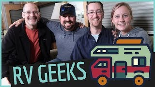 What the RV GEEKS think about RV LIVING?