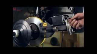 видео Проточка тормозных дисков без снятия с автомобиля