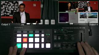 Getting to Know the Roland XS 1HD