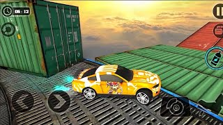 Impossible Stunt Car Tracks 3D - #8 Android GamePlay On PC