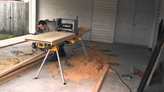 Planer Table On Dewalt Universal Stand