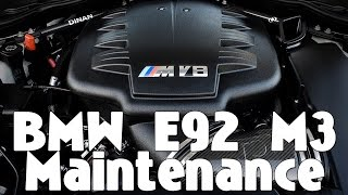 BMW E92 M3 Maintenance. What am I doing differently???
