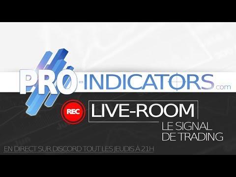 LIVE-ROOM #2 : Le Signal de Trading
