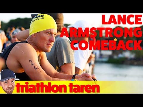 Lance Armstrong (the Triathlete) Comeback?!
