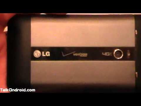 Hands On: Verizon 4G LG Revolution