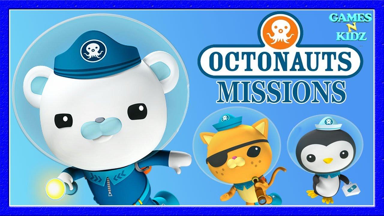 octonauts missions sea creature rescue childrens games disney junior game for kids - Childrens Games Free Disney