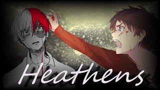 Аниме клип (AMV) - Heathens (совместно с Silver「AMV」)