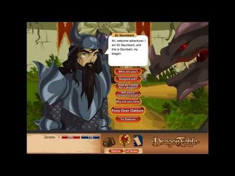 "DragonFable PlayThrough ""Journey to FalconReach"""