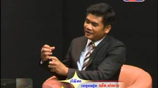 Part6 Dr. Sok Touch Discuss on Education Sector - TV 3 - 19 Aug 2014