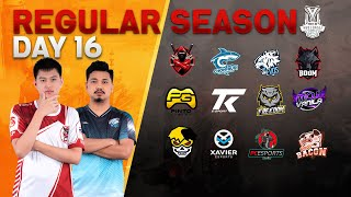 Free Fire Pro League Season 3 : Regular Season Day 16