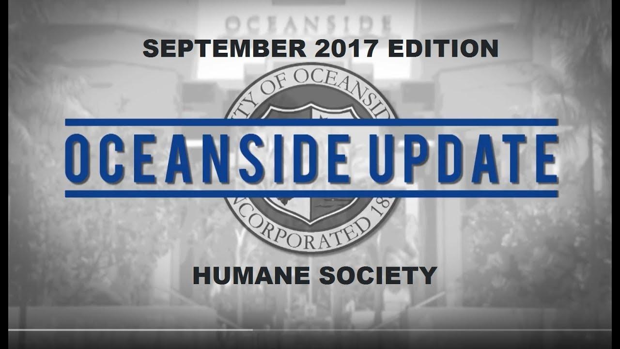 Oceanside Update September 2017 - San Diego Humane Society