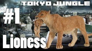 Tokyo Jungle: Lioness Survive over 100 years  Part 1 of 5