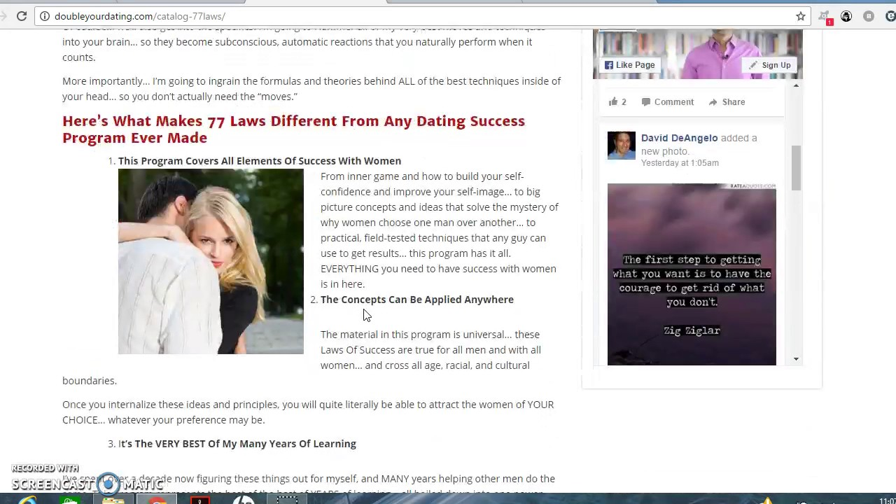 77 laws of success with women & dating