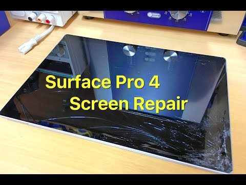 surface-pro-4-screen-replacement,-start-to-finish