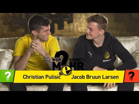 Christian Pulisic vs. Jacob Bruun Larsen | Who knows more? - The BVB-Duel