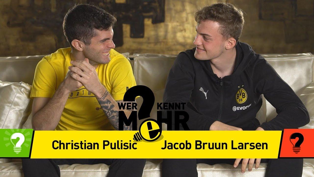 Christian Pulisic vs. Jacob Bruun Larsen | Wer kennt mehr? - Das BVB-Duell