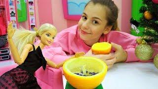 Лайфхак: апельсиновая свечка на Новый Год с Барби!
