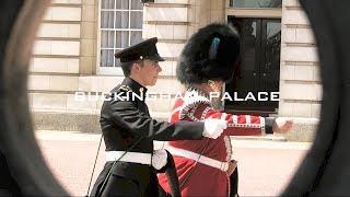イギリス・ロンドン旅行12🇬🇧バッキンガム宮殿 衛兵交代式とバンド / Changing of Guard at Buckingham Palace, London Travel #12