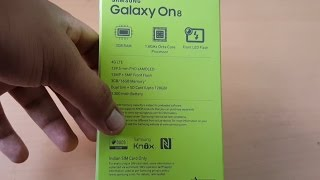 Hindi | Samsung Galaxy On8 Unboxing and First Look |