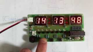 C51 Electronic Clock Suite Diy Kits Ycl-6