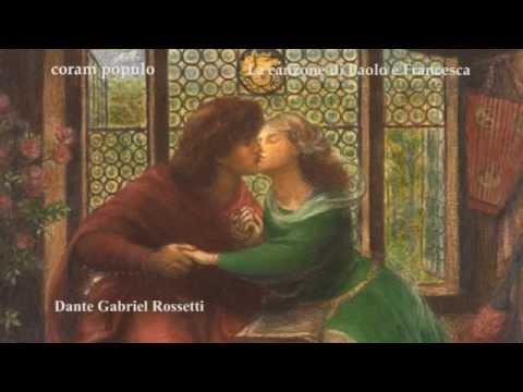La canzone di Paolo e Francesca - coram populo
