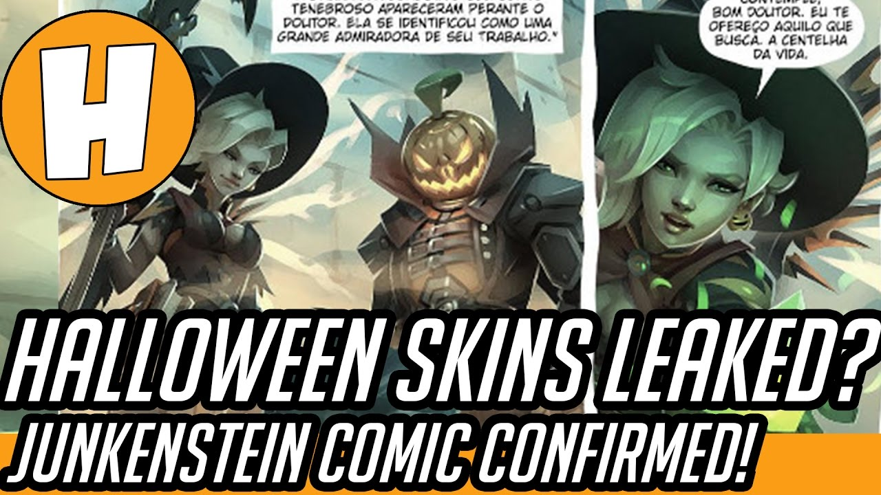 Overwatch Halloween Skins Confirmed! [Comic Leak - Junkenstein ...
