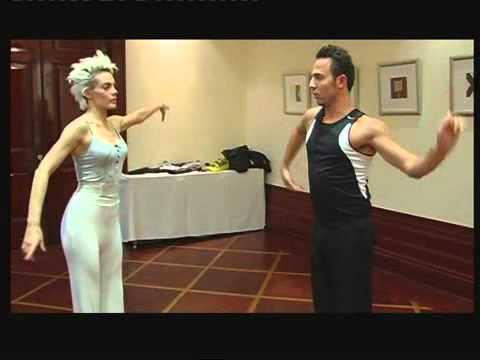 Emilia Attias Preparando Para Bailando Israel!