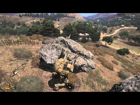 ArmA 3 Co-Op: Operation Desert Panther Pt. 1